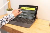 GuideConnect - ovládání dotykem